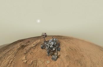 Rover Curiosity vŕtal do Marsu, na Zemi tlačia uši na tlačiarni