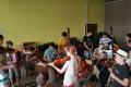 Počas tvorivých dielní v Klenovci sa deti zdokonaľovali v tanci