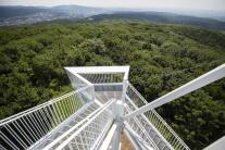 Vyhliadkovú vežu na Devínskej Kobyle sprístupnili verejnosti