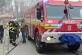 Pri obci Zemplínska Široká hasiči objavili neznámu nebezpečnú látku