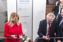 Otvorenie Českého domu v Bratislave