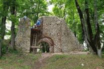 Obnova hradu Muráň