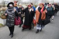 fašiangy tradície masky sprievod Petržalka