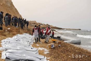 Pri líbyjskom pobreží našlo smrť asi ďalších 250 migrantov z Afriky