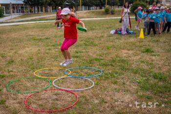 Park pod pamätníkom SNP ožil radosťou a detskou spontánnosťou