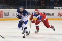 Štvrťfinálový zápas majstrovstiev sveta v hokeji h