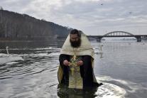 pravoslávni, Piešťany, oslavy, Zjavenie Pána, Váh