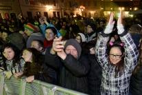Nový rok 2014 v Bratislave