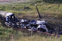 FOTO: Títo muži tvorili posádku havarovaného vrtuľníka pri Prešove