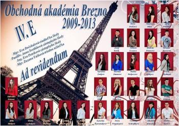 Obchodná akadémia Brezno, 4.E
