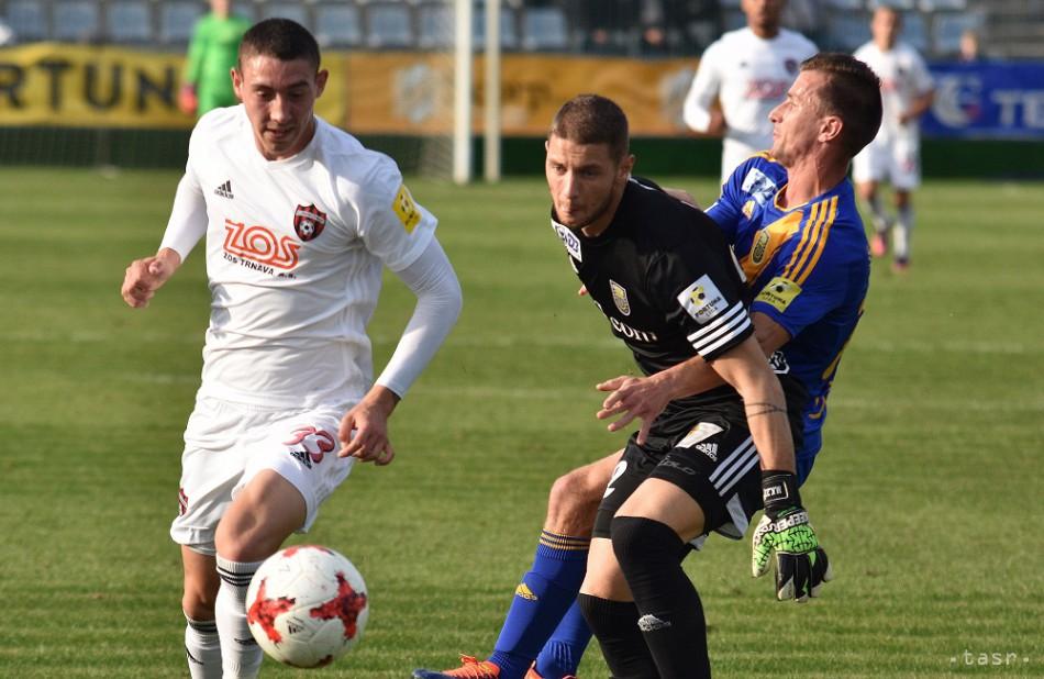 57203cde86dc0 Spartak Trnava v 12. kole porazil Michalovce, Slovan zdolal Tatran