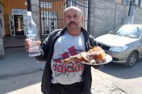 Rómsky muž v Trebišove