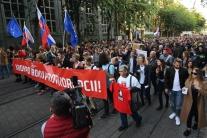 V Bratislave sa uskutočnil tretí protikorupčný pochod