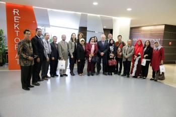 Prijatie delegácie rektorov ekonomických univerzít z Indonézie