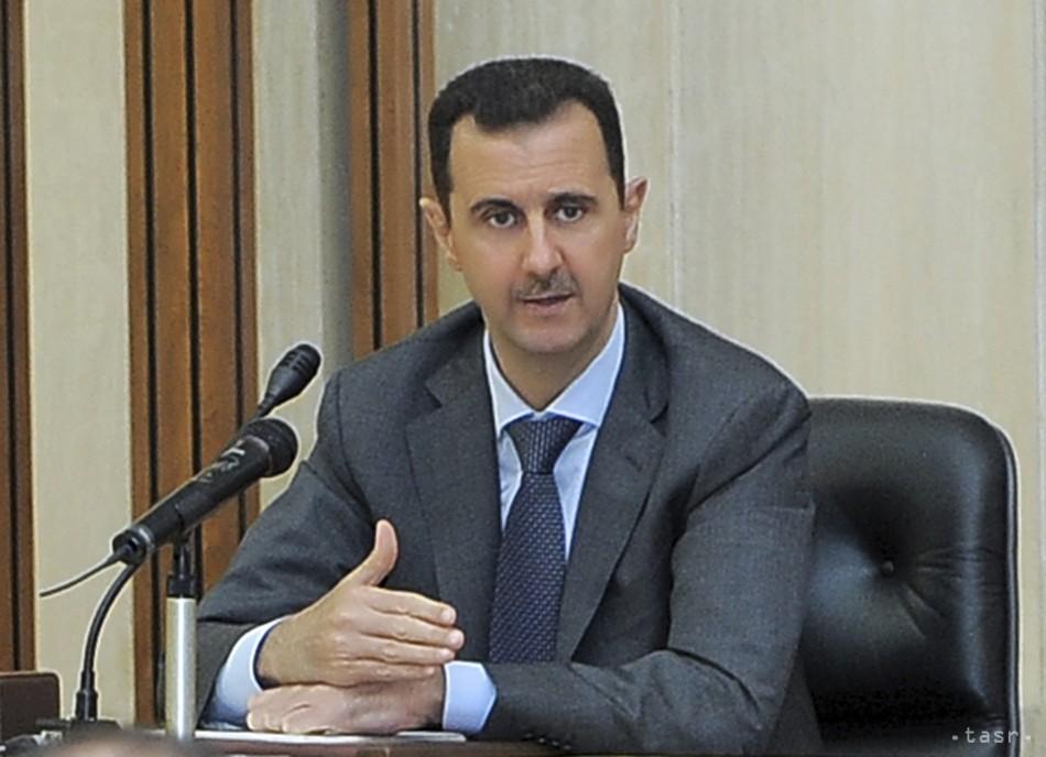 Asad chce získať celú Sýriu, odmieta obvinenia z vojnových zločinov