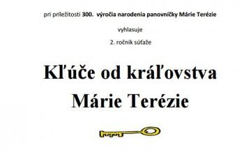 Začal sa druhý ročník súťaže Kľúče od kráľovstva Márie Terézie