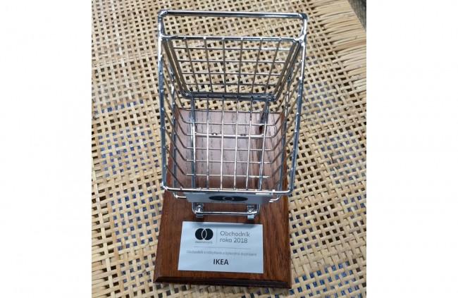 IKEA Bratislava získala opäť ocenenie MasterCard Obchodník roka