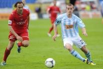 Slovan - Zlaté Moravce 3:0