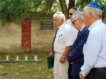 Spomínali na obete holokaustu