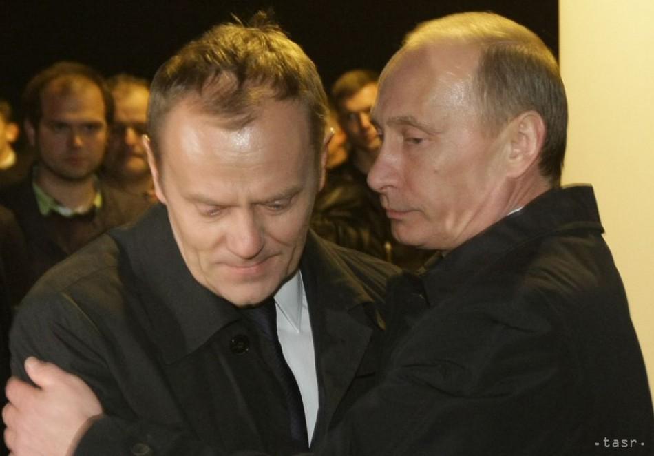 D. Tusk poprel, že mu V. Putin v minulosti navrhol delenie Ukrajiny