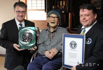 115-ročný Japonec sa stal najdlhšie žijúcim mužom sveta