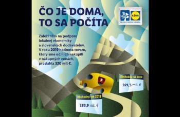 Lidl nakúpil od slovenských dodávateľov tovar za vyše 320 miliónov eur