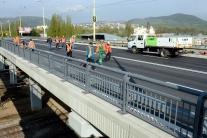 Opravený most v Košiciach
