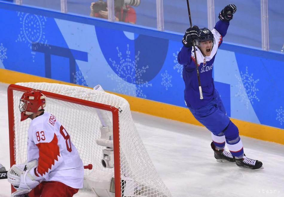9d1c5a804 ONLINE: Senzácia je na svete: Hokejisti SR vyhrali nad OŠ Ruska