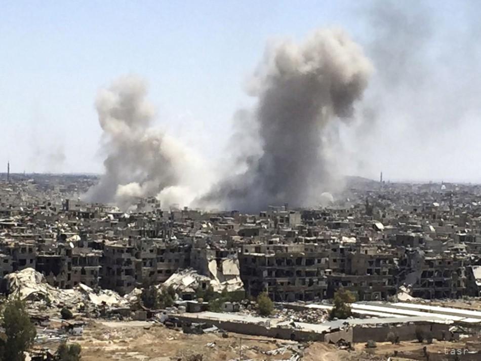 Koalícia pod vedením USA zhodila na sýrsky Hadžín fosforové bomby 7ee3e61777b