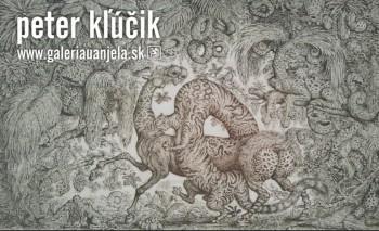 Peter Kľúčik je tvorcom imaginatívnych ilustrácií