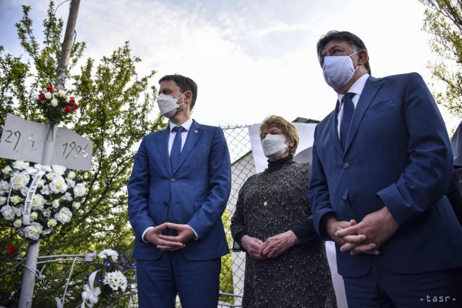 Premiér: Obeť R. Remiáša nás poháňa k nekompromisnému boju so zlom