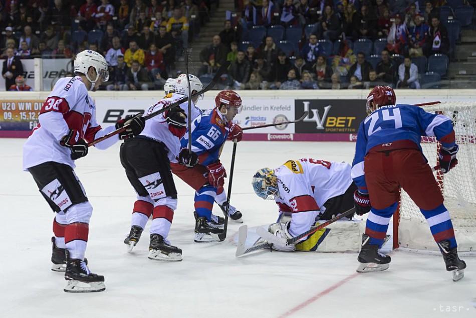 ffd9041cffbe4 Rusi zdolali Švajčiarsko a vyhrali Nemecký pohár v Krefelde