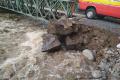 MIMORIADNA SITUÁCIA: Hladiny potokov v Medzilaborciach stúpajú
