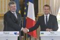 Macron uistil Porošenka, že Francúzsko neuzná anexiu Krymu