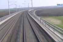 UNIKÁTNY VIDEOPROJEKT: Buďte rušňovodičom na trati Bratislava - Trnava