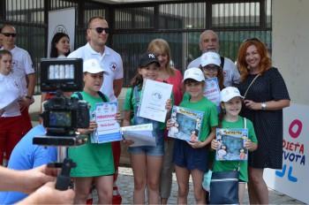 V celoslovenskom kole súťaže prvej pomoci sme boli prví