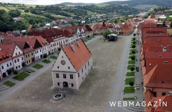 Navštívte Bardejov: Má vraj najkrajšie námestie na Slovensku