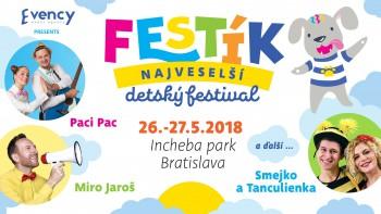 Bratislava pripravuje najveselší detský festival Festík