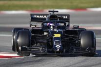 Daniel Ricciardo, tím Renault.