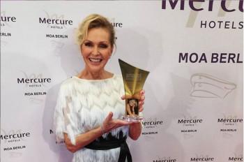 H. Vondráčková si v Nemecku prevzala cenu smago! Award