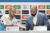 Vladimír Weiss ml. podpísal zmluvu Slovanu