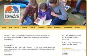 Záujem rodičov o ZŠ Benkova v Nitre prevyšuje kapacitné možnosti školy
