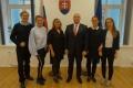 Delegácia z Katedry sociálnej práce PF KU v Lotyšsku