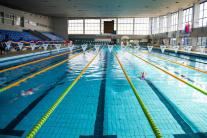 Tréning slovenských plaveckých reprezentantov