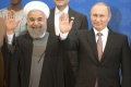 Do Ruska pricestoval iránsky prezident H. Rúhání