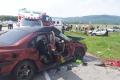 Dopravnú nehodu pri Ružomberku neprežil jeden človek