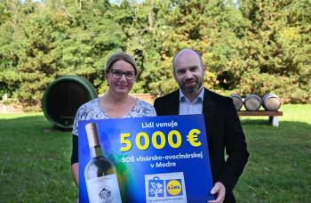 LIDL podporil mladých slovenských vinárov