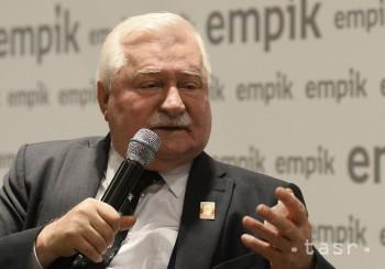 Líder Solidarity a bývalý poľský prezident Lech Walesa má 75 rokov