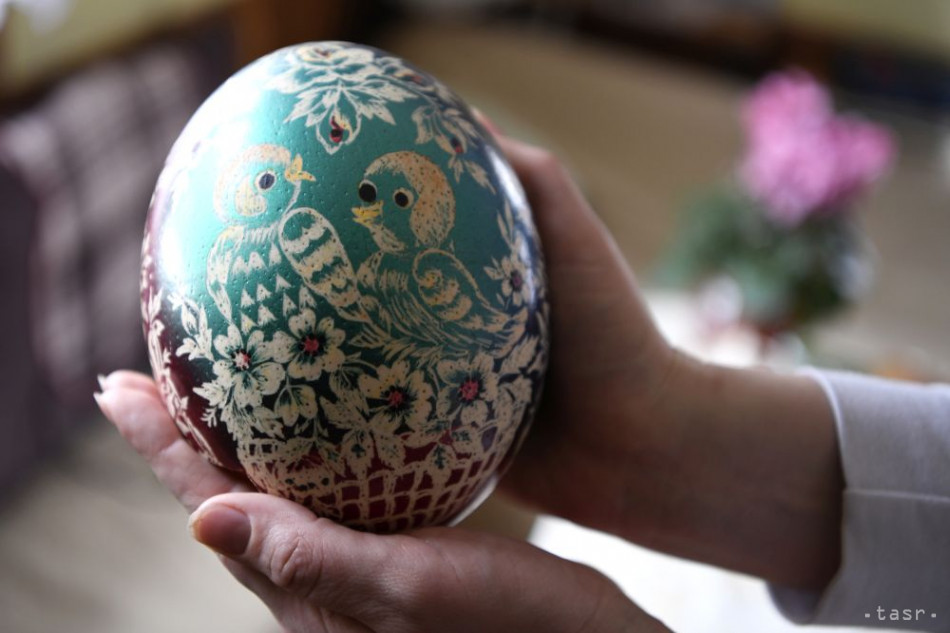 Unikátne veľkonočné vajcia z Hornej Marikovej poznajú v celom kraji i v Rakúsku.