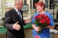 Minister Gajdoš zagratuloval matke štyroch detí, ktoré slúžia v OS SR